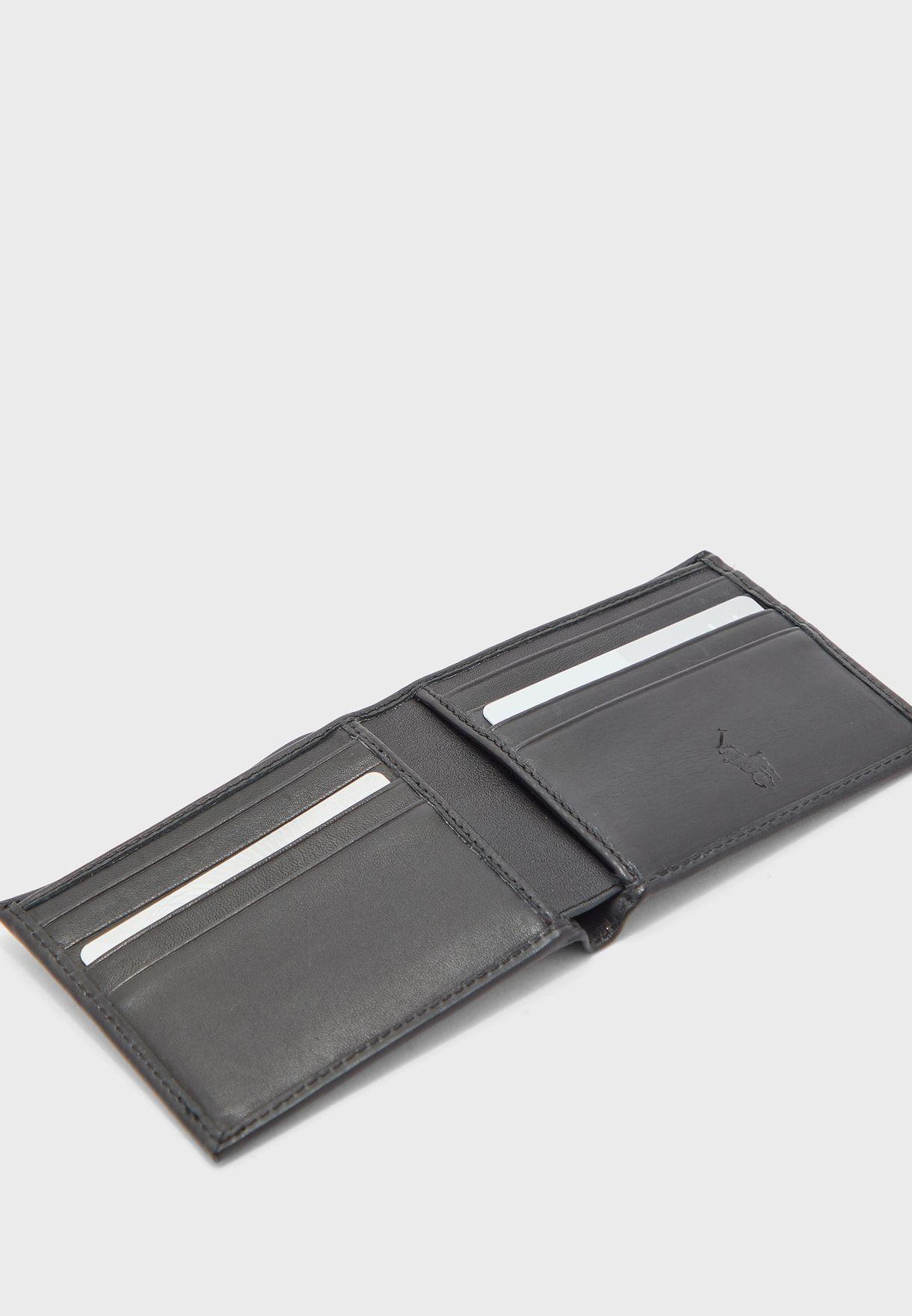 محفظة مطوية بجيوب للبطاقات