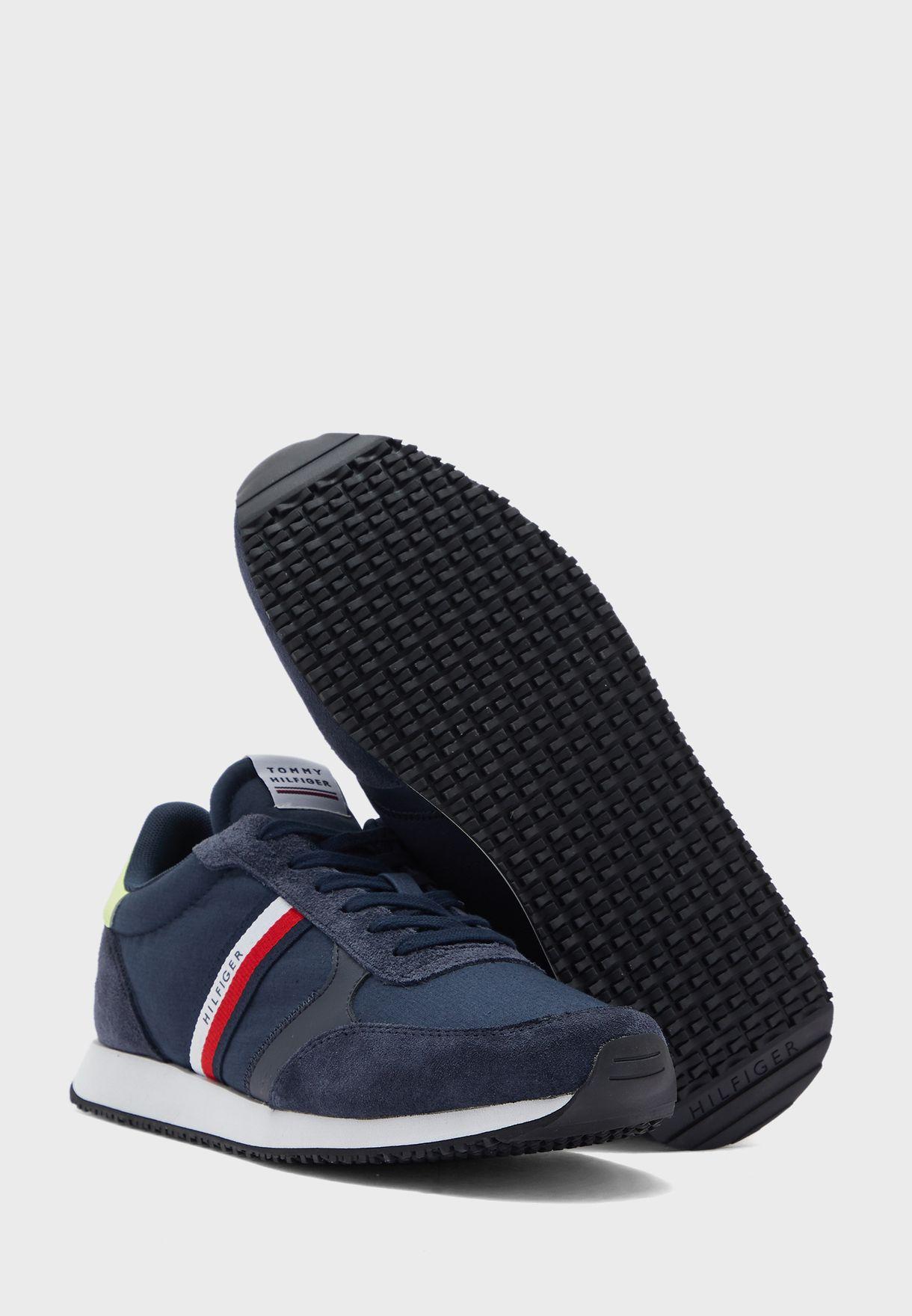 Logo Printed Low Top Sneakers