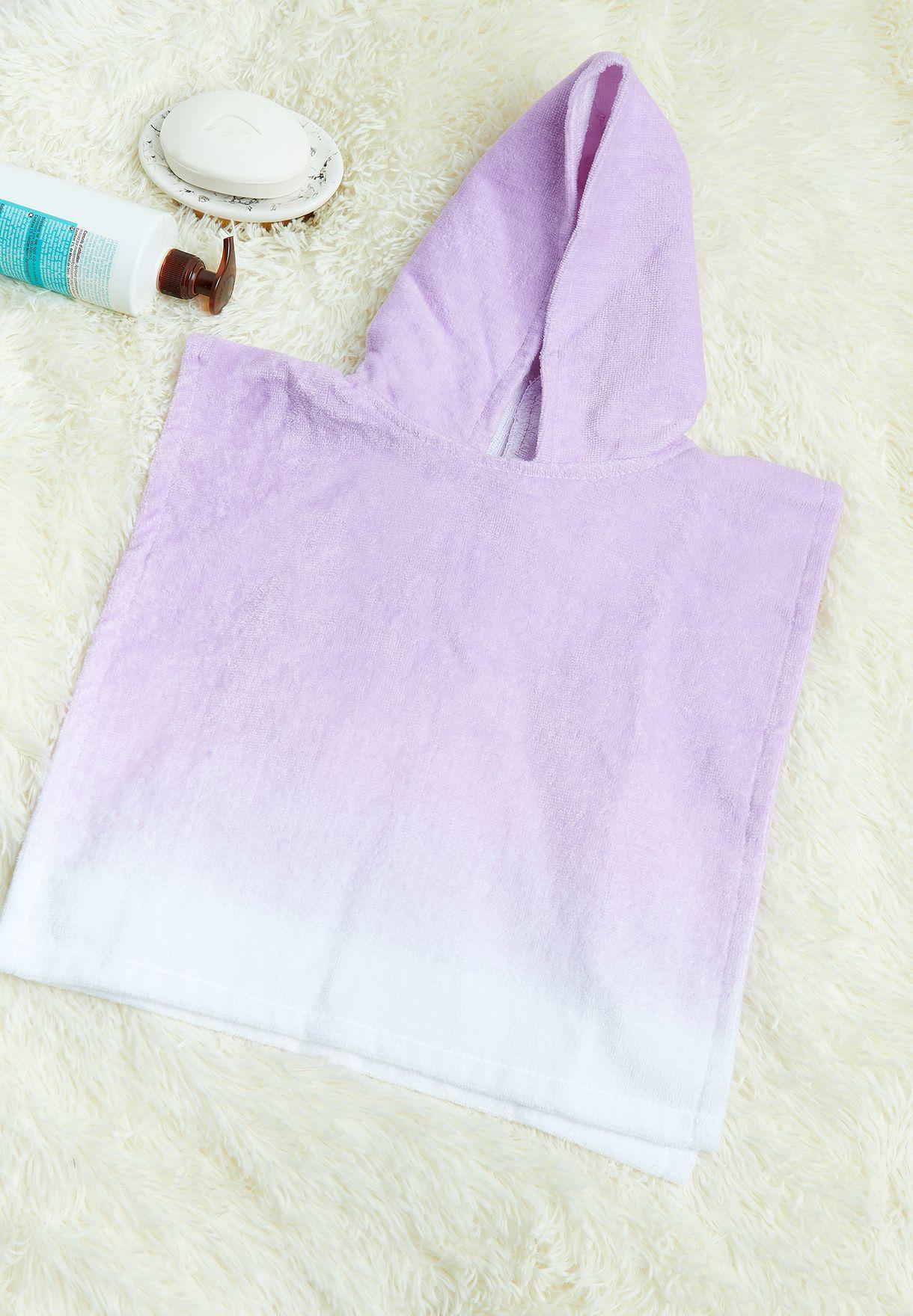 منشفة اطفال بياقة هودي