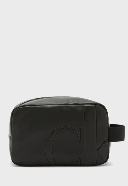 محفظة عصرية بشعار الماركة