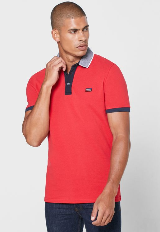 Charming Slim Fit Polo