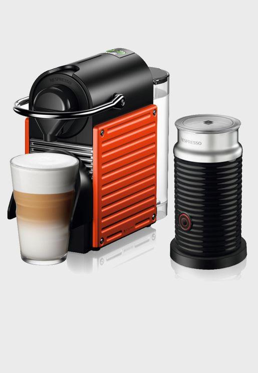 ماكينة صنع القهوة بيكسي سي 61 + ايروتشينو