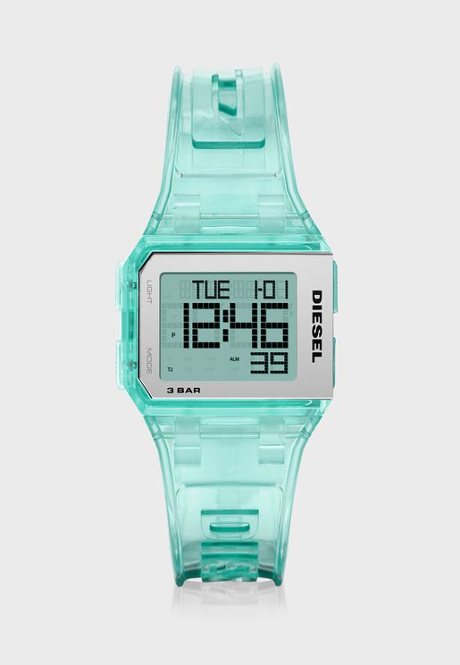 Chopped Digital Watch