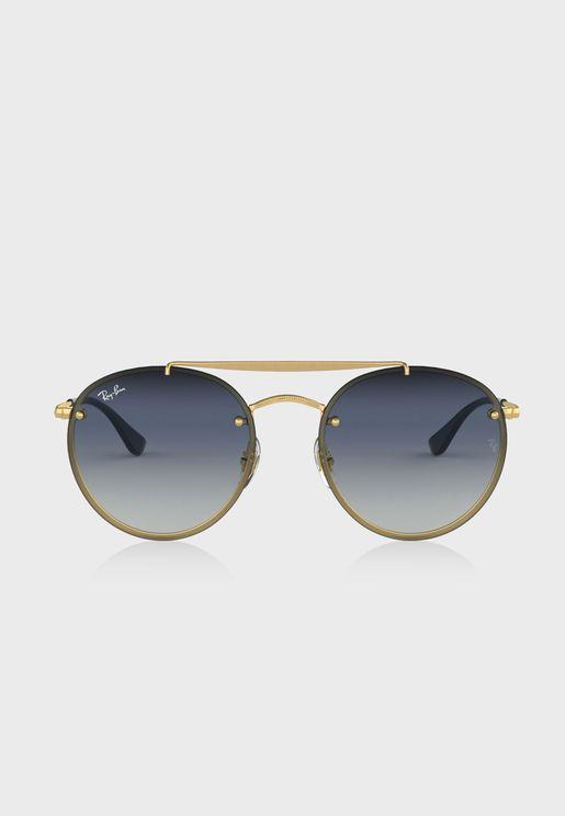 نظارة شمسية دائرية 0RB3614N