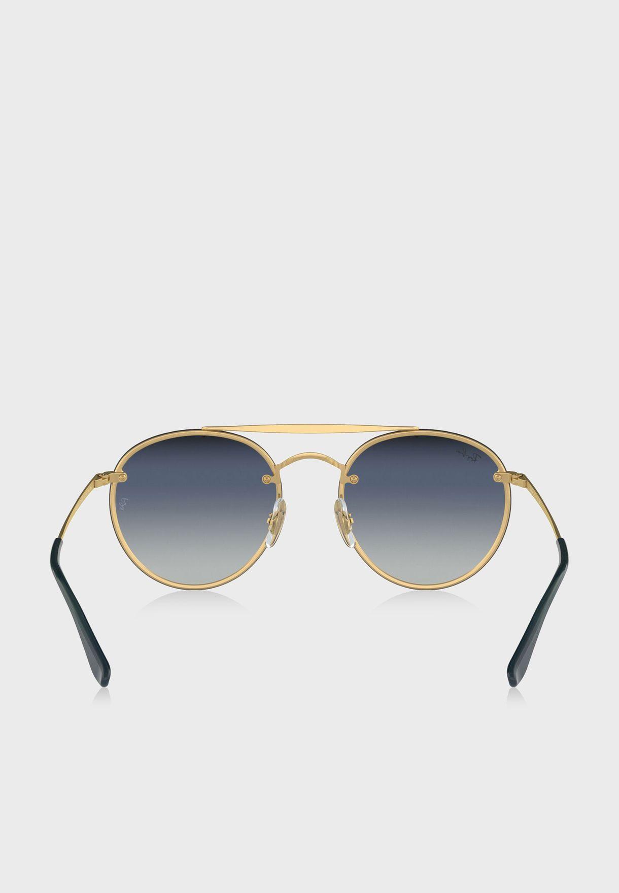 0RB3614N Round Sunglasses