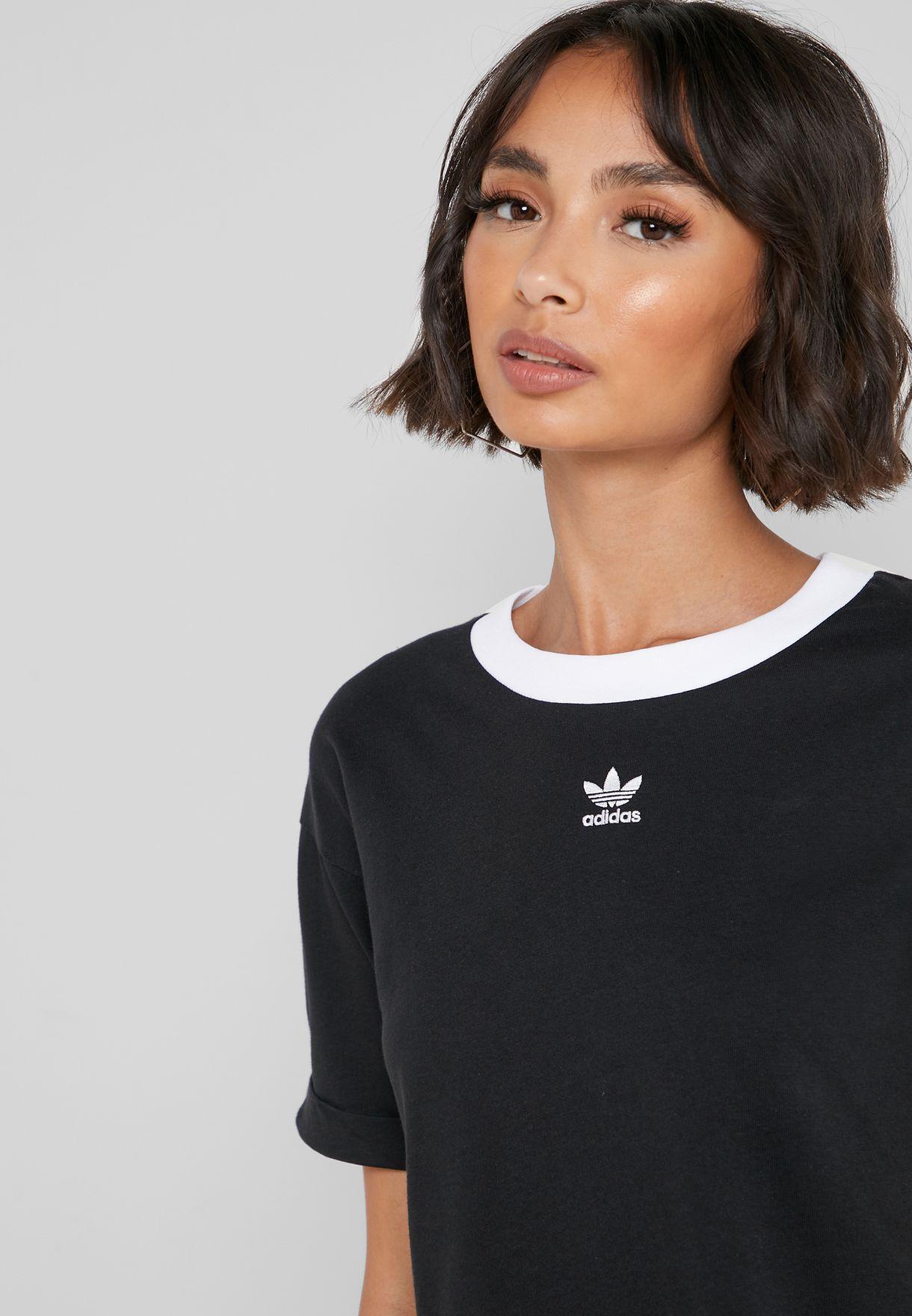 adicolor Logo Cropped T-Shirt