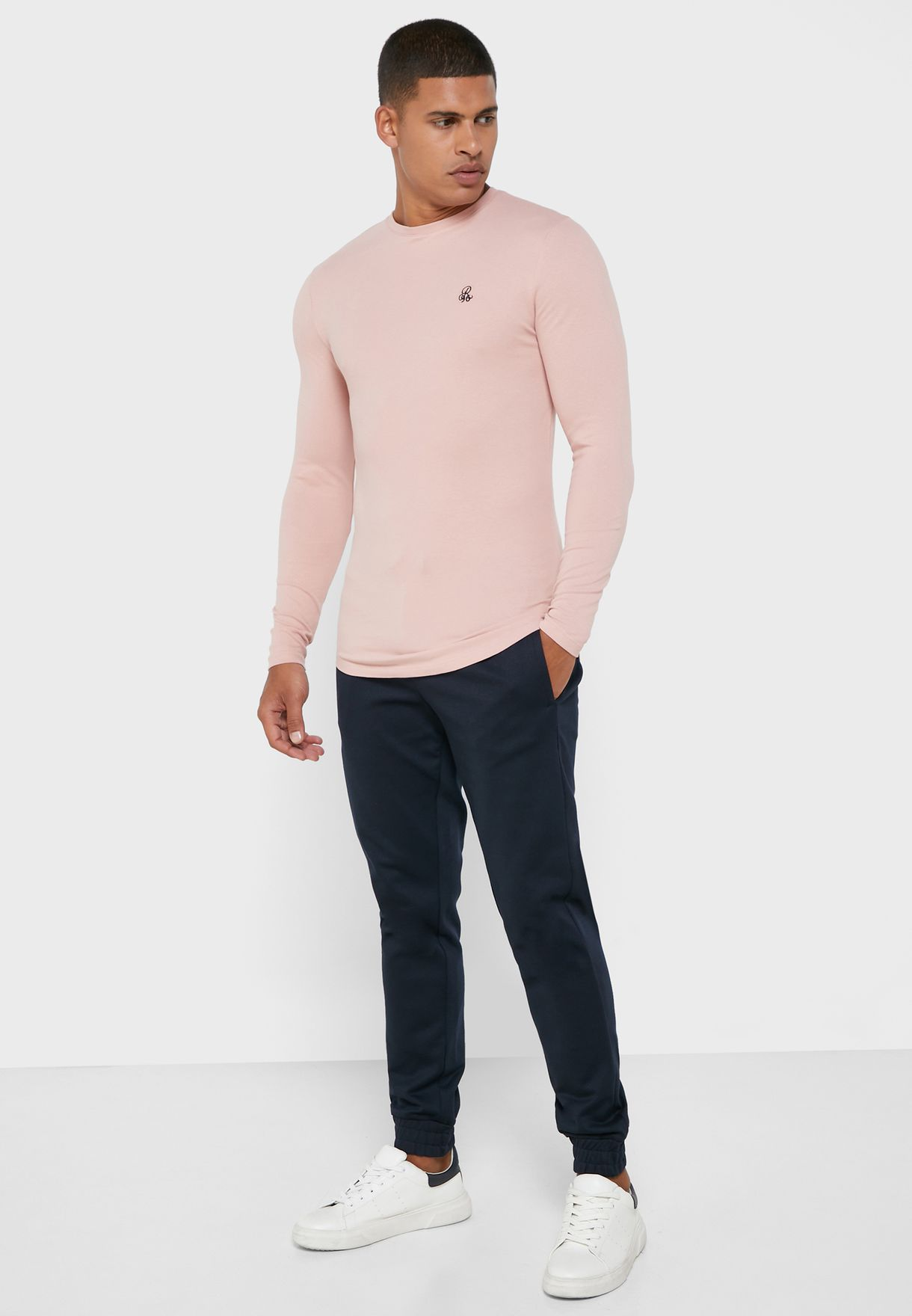 Muscle Fit Crew Neck T-Shirt