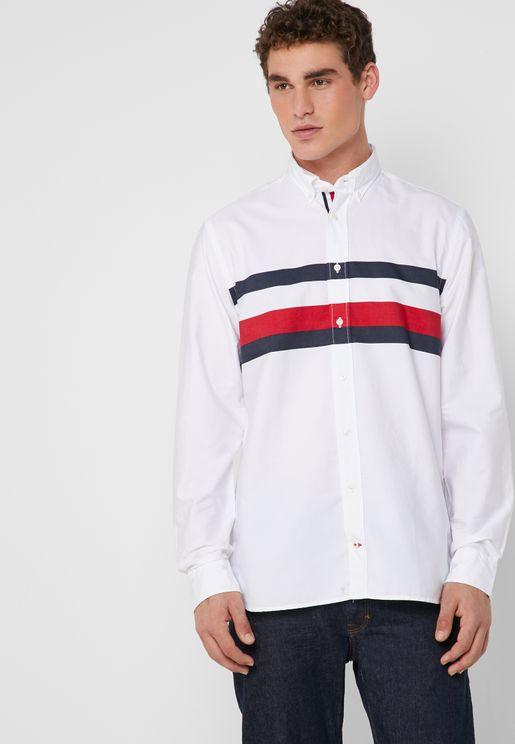 Chest Striped Shirt
