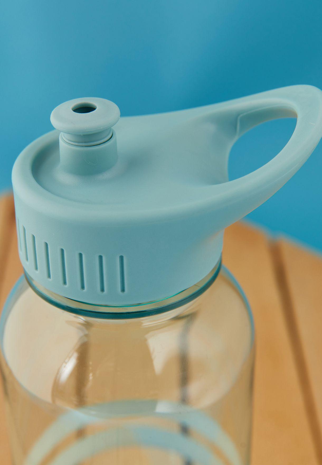 قارورة مياه مع شفاط - 1 ليتر