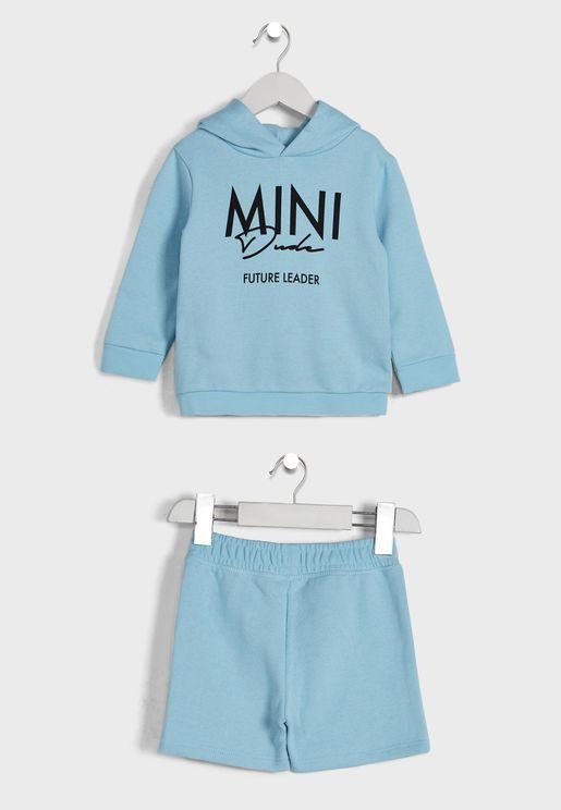 Kids Essential T-Shirt & Shorts Set