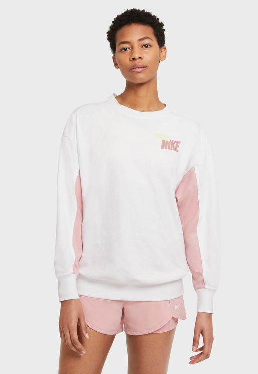 Dri-FIT Fleece Colour Block Sweatshirt