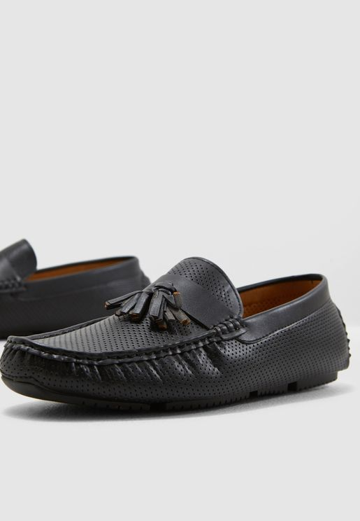 Perforated Driver Moccasins
