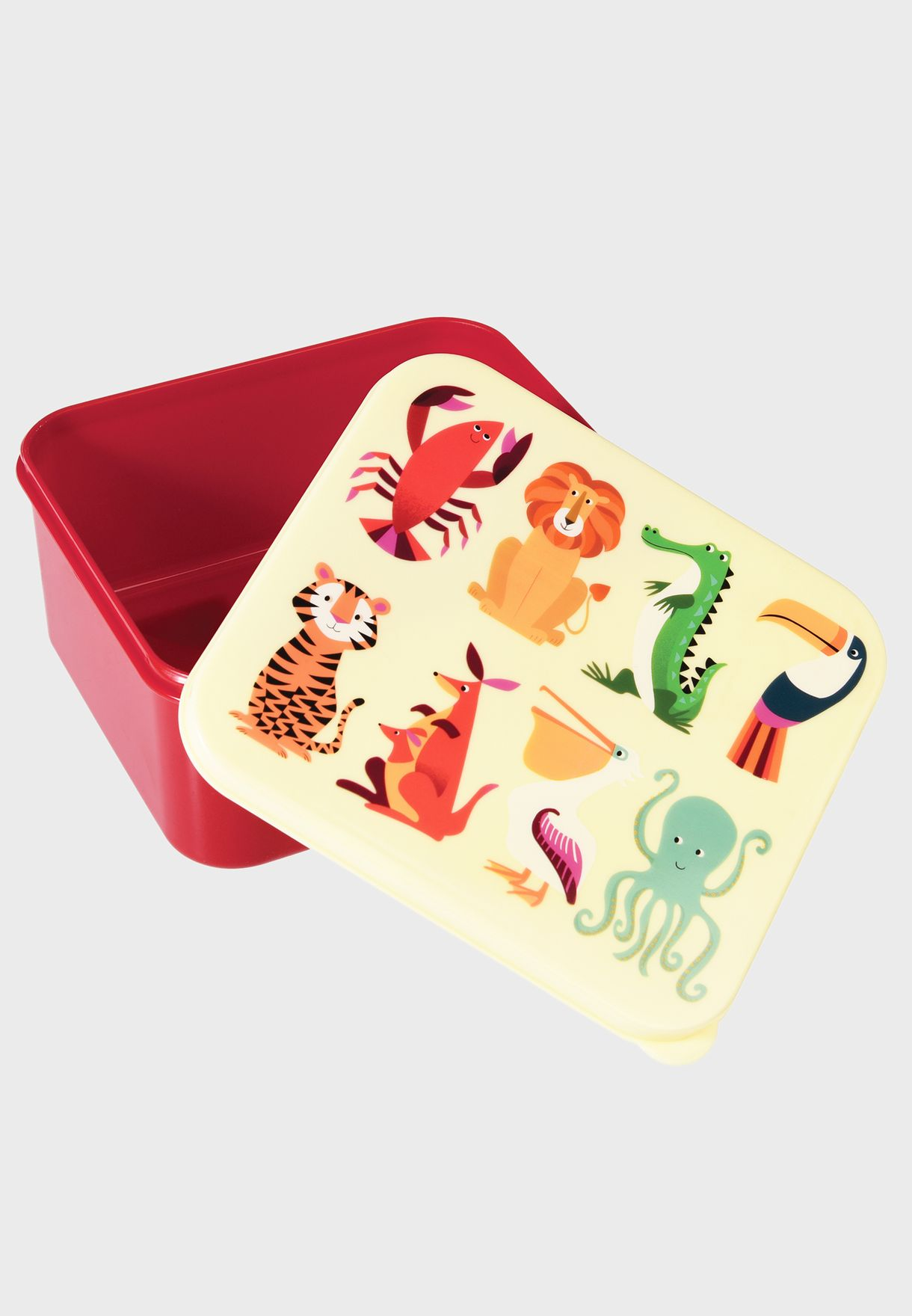 Printed Creatures Lunch Box