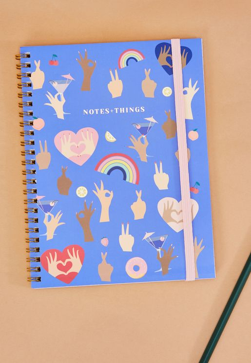 A5 Hands Up Notebook