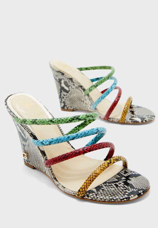 Frany High Heel Wedge Sandal