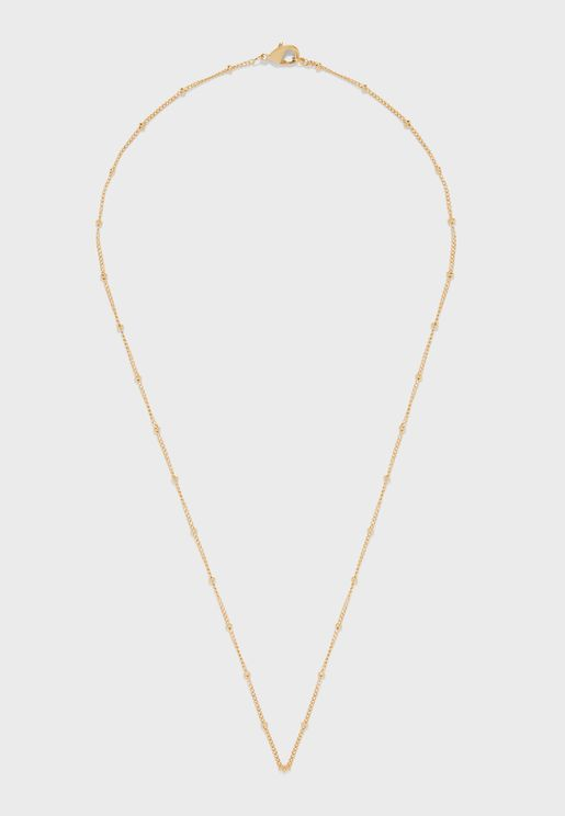 Satellite Single Chain Necklace