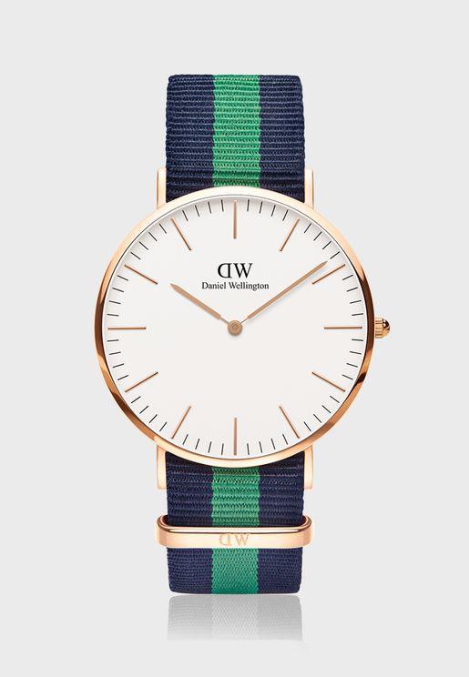 Classic Warwick RG White 40mm Watch