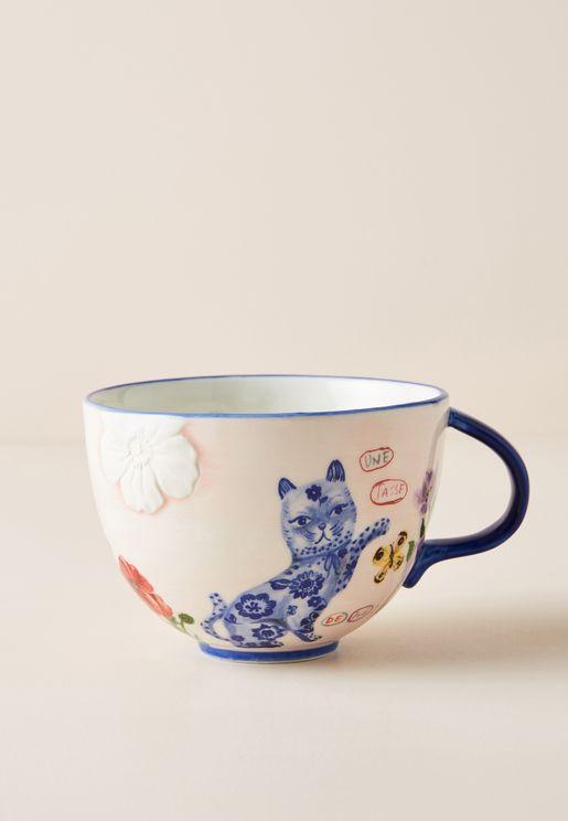Nathalie Lete Cat Mug