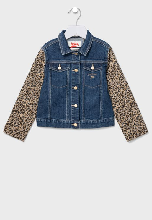 Youth shirt Collar Denim Jacket