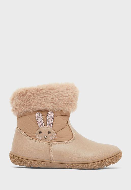 Infant Rabbit Boots