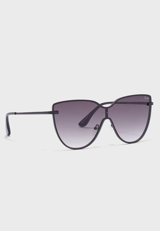 Shield Cat Eye Sunglasse