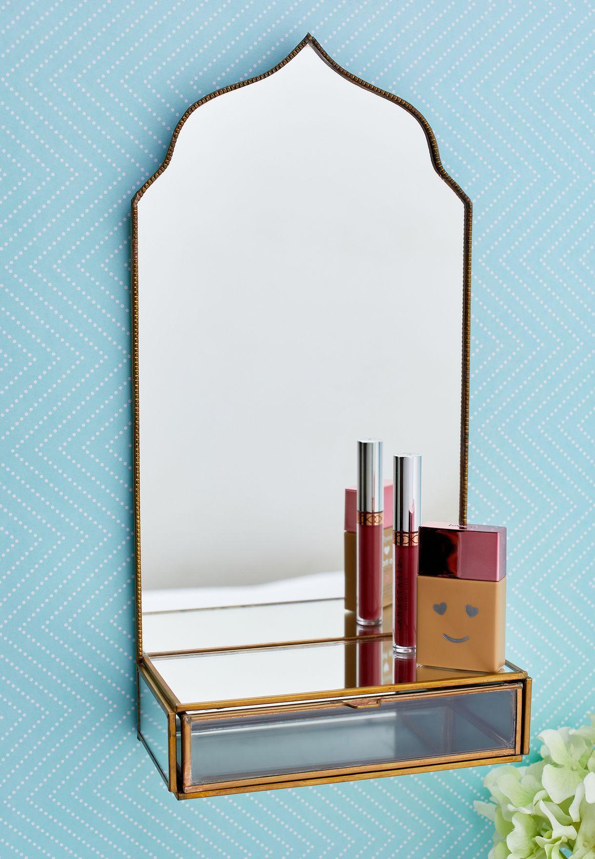 Small Taj Mirror With Drawer