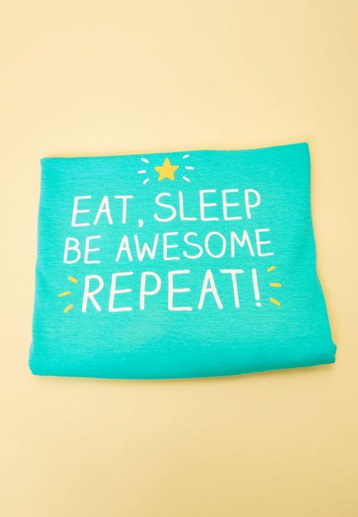 Eat Sleep  Blanket