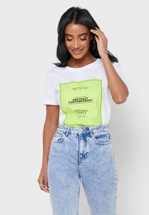 Graphic Neon T-Shirt