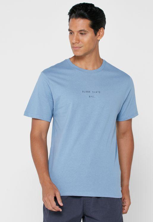 Blank Slate Crew Neck T-Shirt