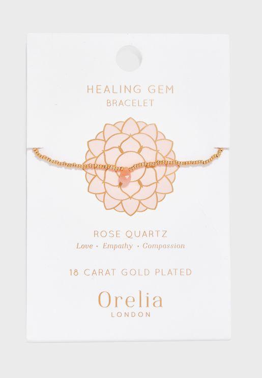 Semi Healing Gem Bracelet
