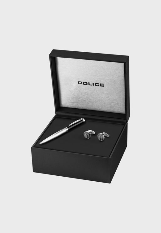 PA30116SLB/216 Cuff Links+Pen Gift Box