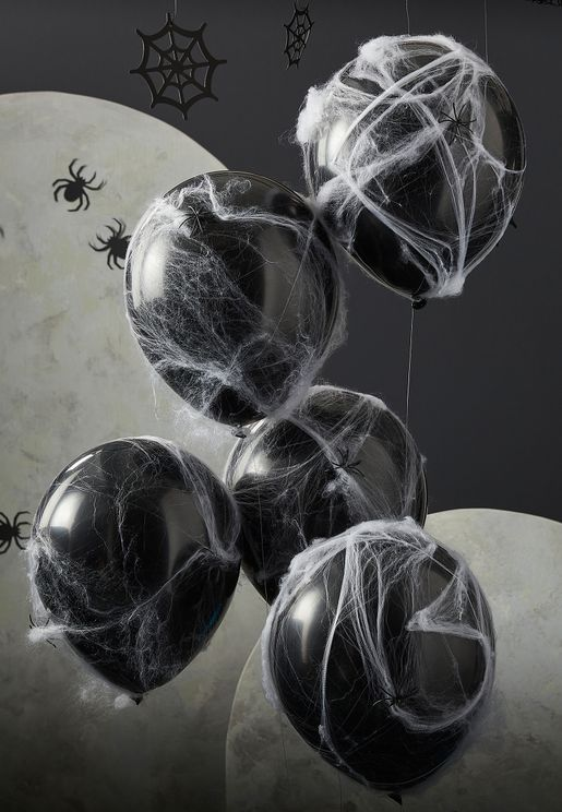 Halloween Webs Balloons