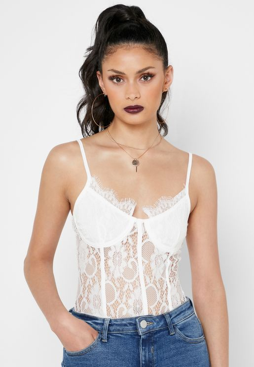 Strappy Lace Body