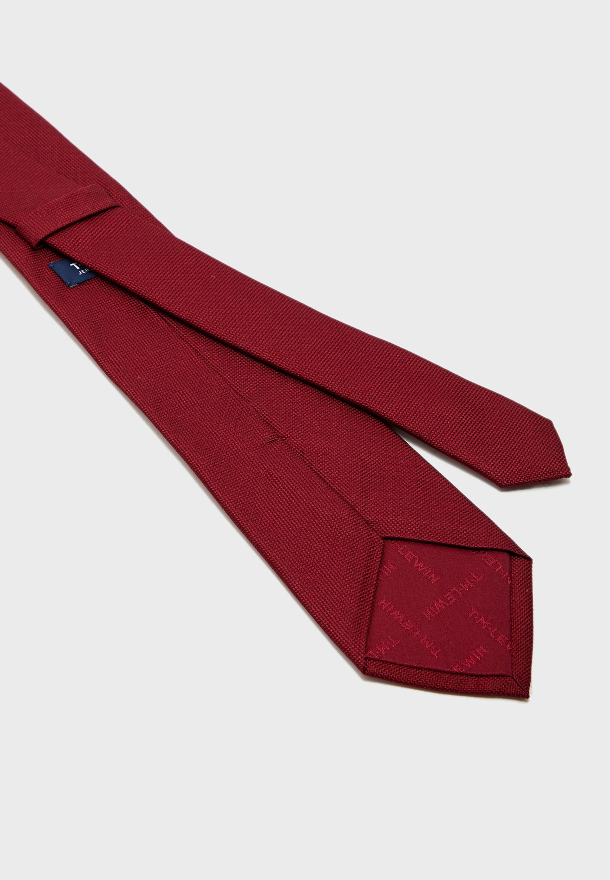 Plain Textured Weave Tie