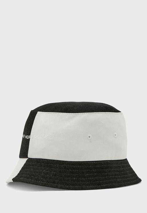 Colour Block Bucket Hat