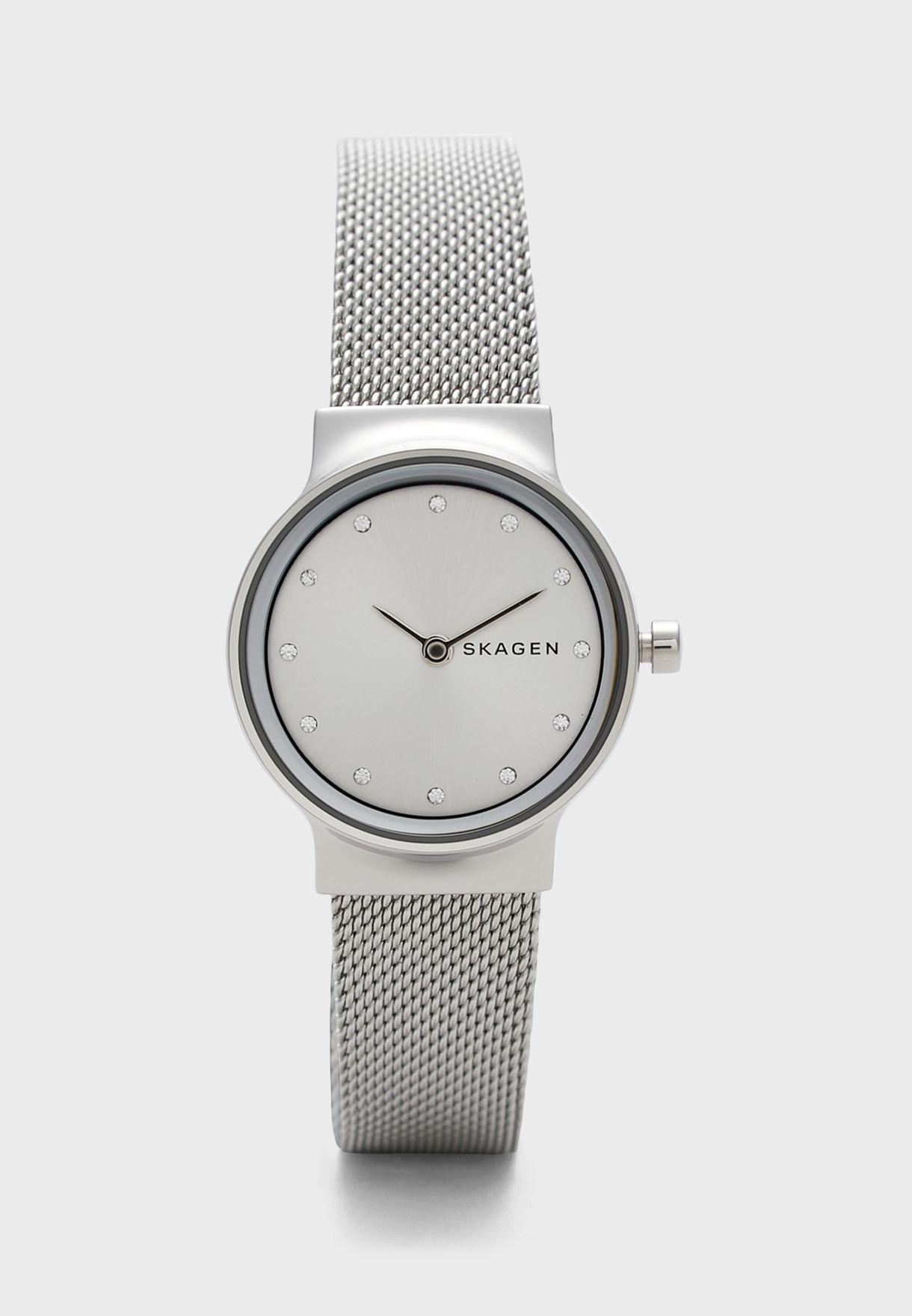 Freja Steel Mesh Strap Watch