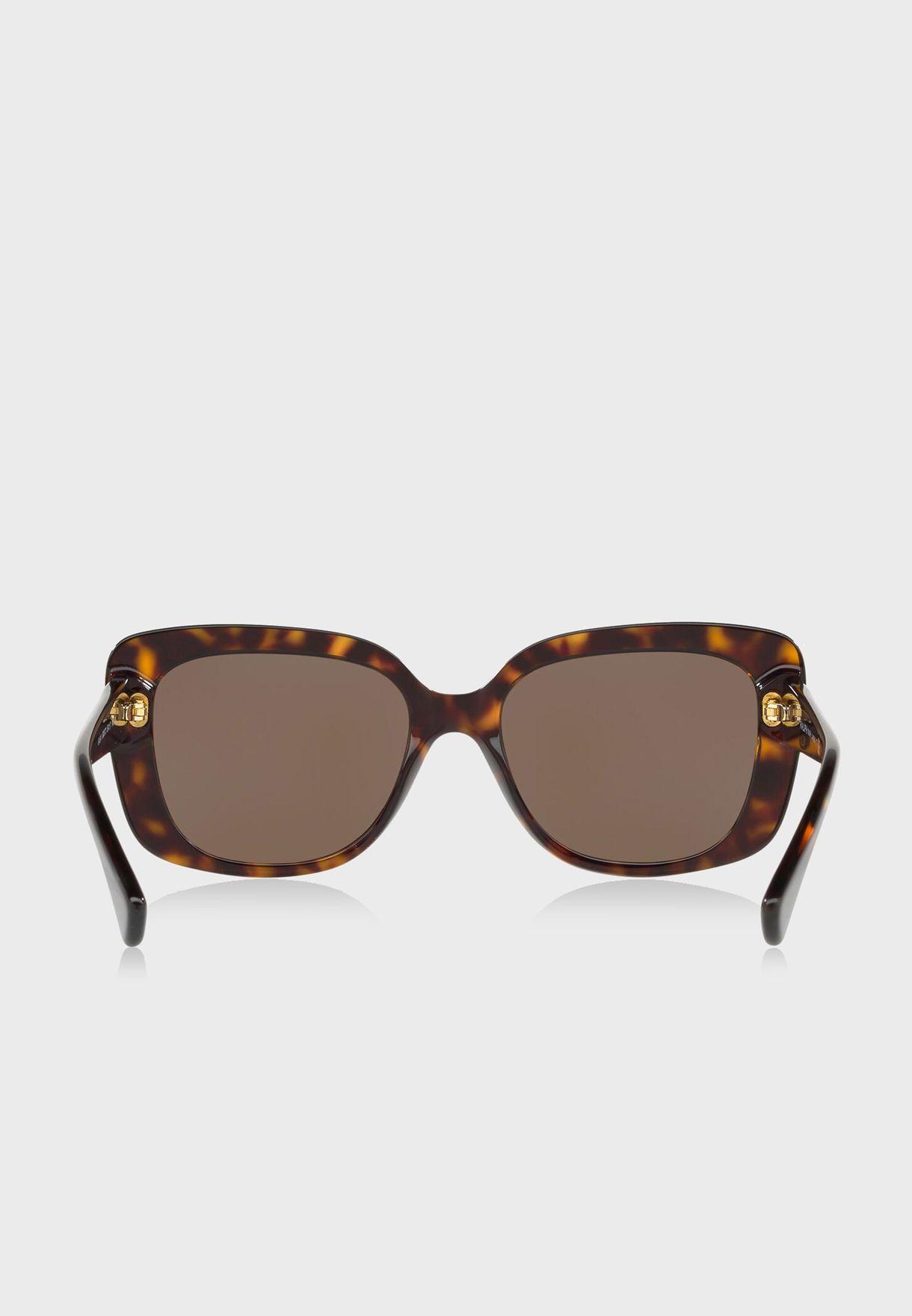نظارة شمسية عصرية بحماية من اشعة الشمس