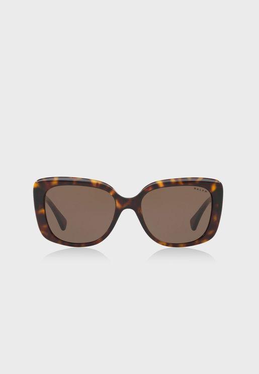 نظارة شمسية عصرية بشعار الماركة