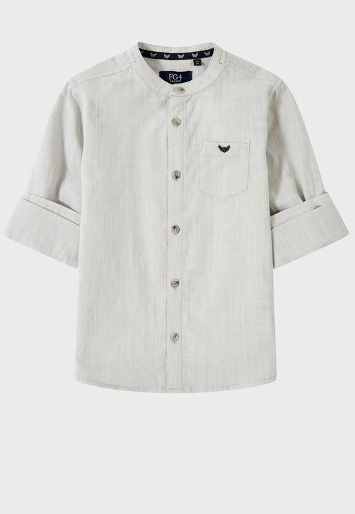Little Calais Shirt Grey