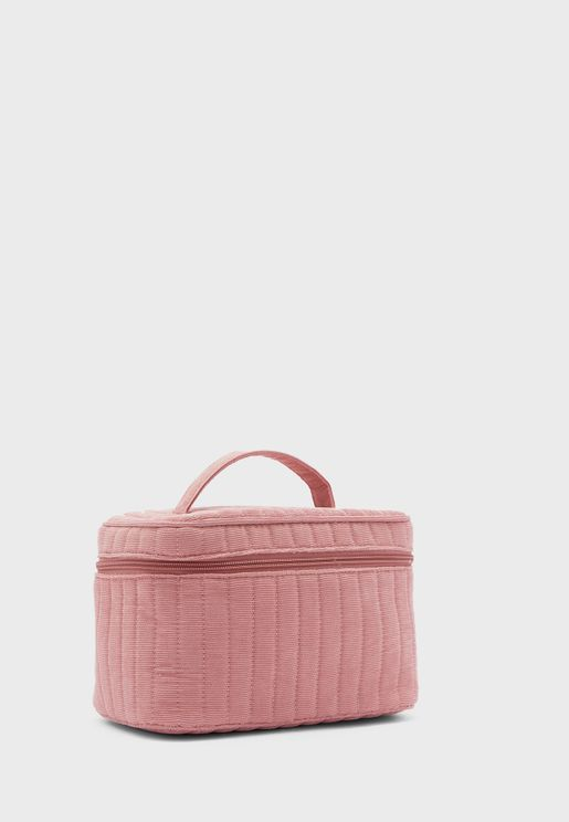 Large Structured Cosmetic Case