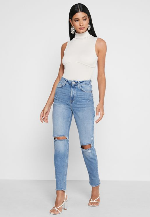 Carrie Sculpt Mom Jeans
