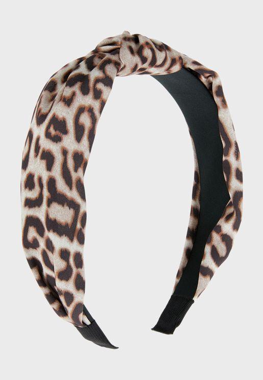 Kids Leopard Print Alice Hairband