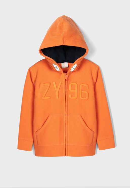 Kids Zip Through Hoodie