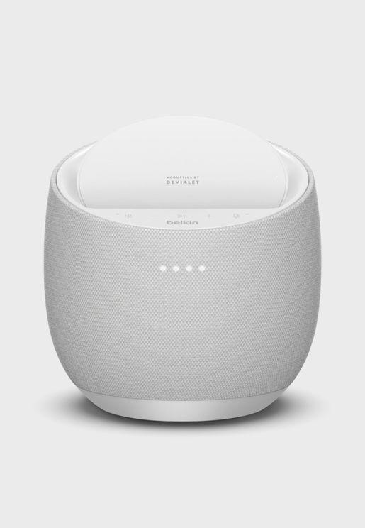 Hi-Fi Smart Speaker + Wireless Charger