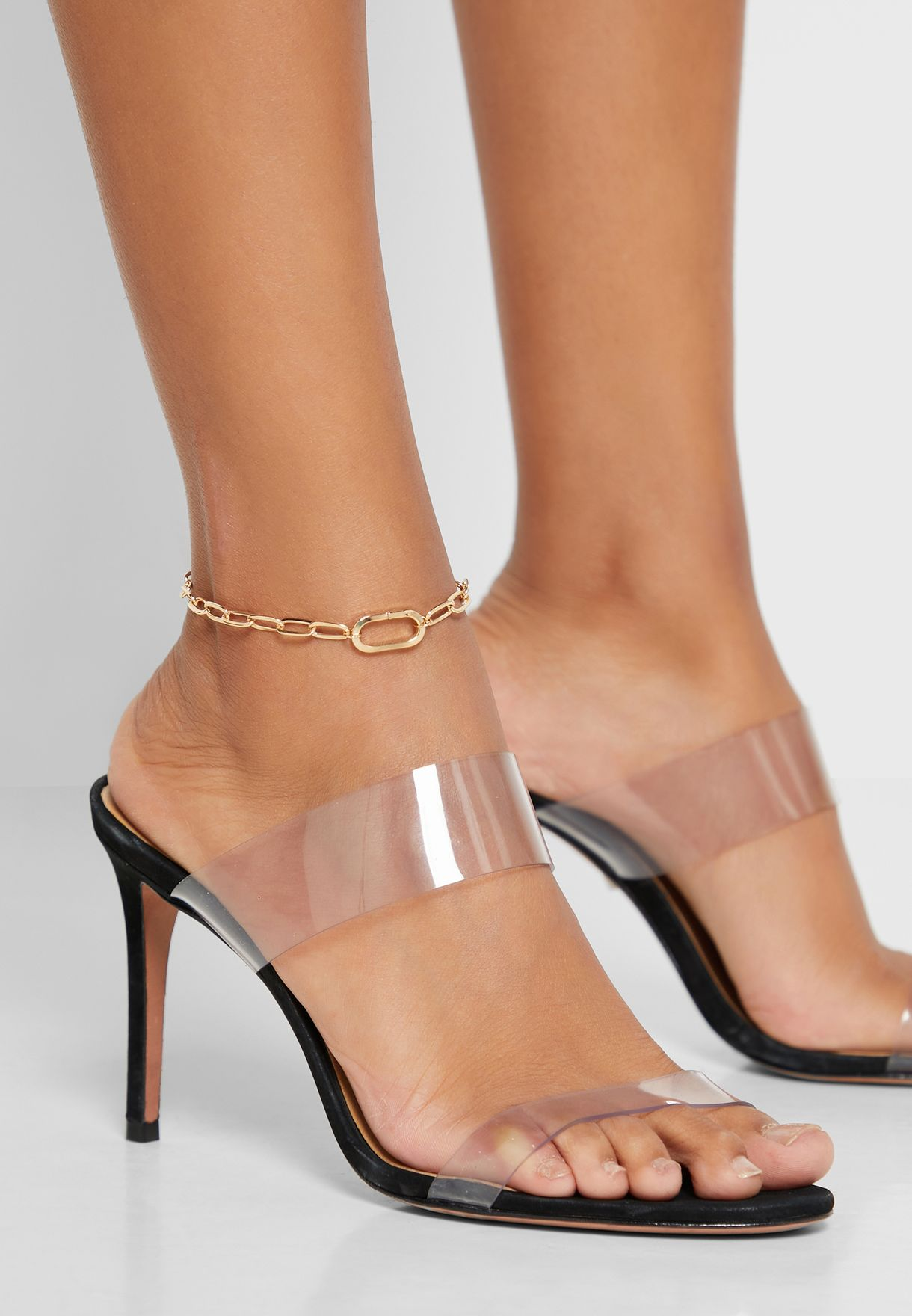 Oversized Link Anklet
