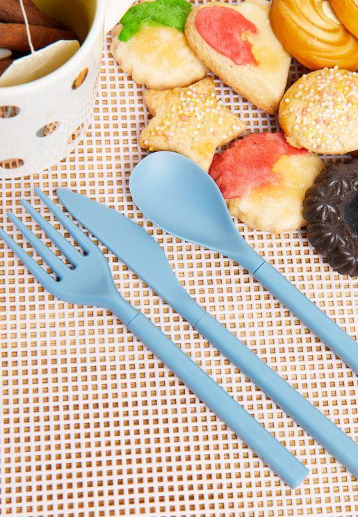 Reusable Lunch Cutlery Set