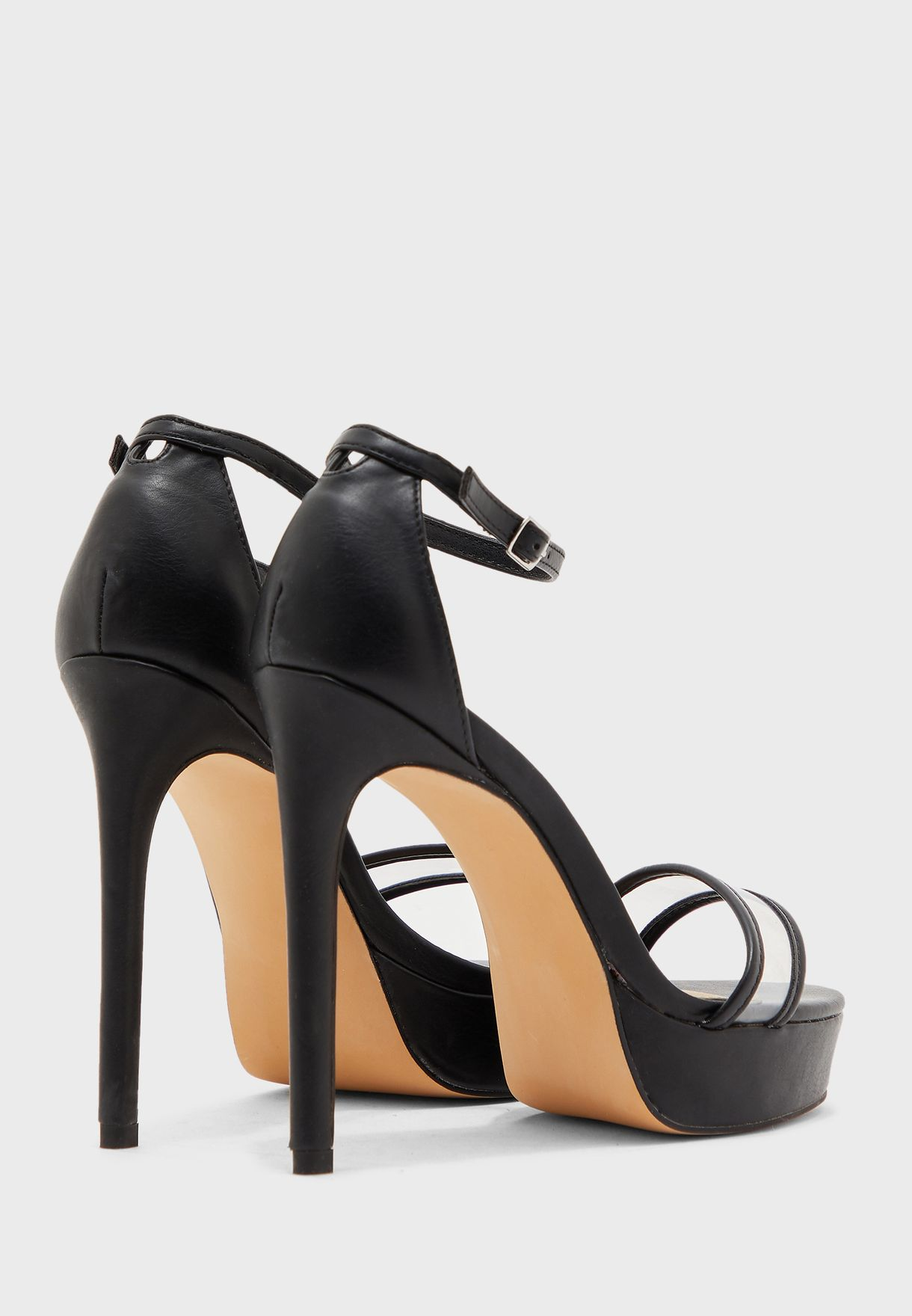 Ankle Strap High Heel Sandal