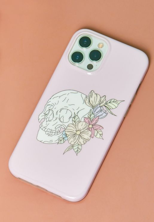 Floral Skull IPhone 12 Pro Max Case