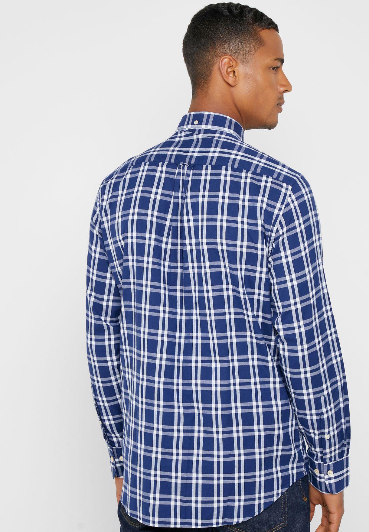 Gant Checked Regular Fit Shirt