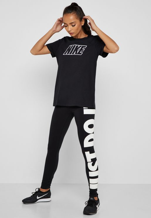 Leg-A-See Just Do It Leggings